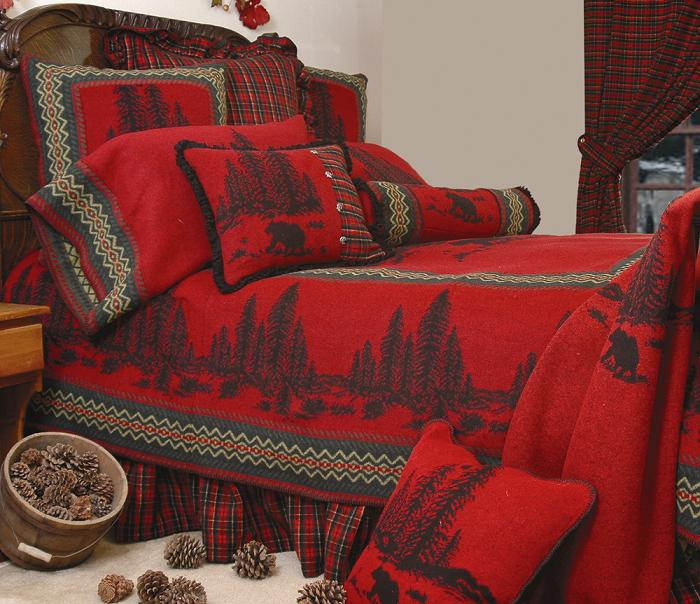 Wooded River Bear Bed Set
