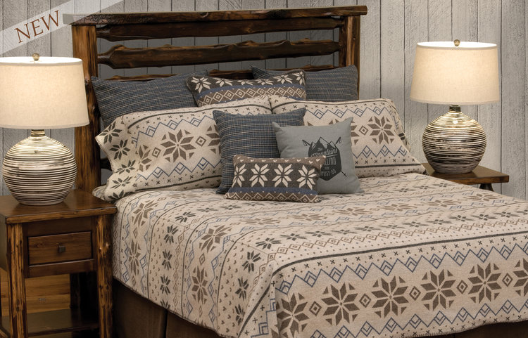 Wooded River Neiva Bed Set