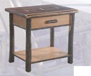 Old Hickory Yosemite Nightstand