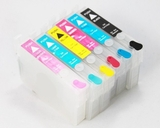 6 Color Compatible Refillable Ink Cartridges for use in Epson T048