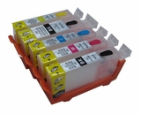 Refillable Ink Cartridges for Canon PGI-225, CLI-226 - 6pk (PBK, BK, C, M, Y, G)
