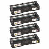 Remanufactured Toner Cartridge for Ricoh Aficio SP C250SF, SP C250DN