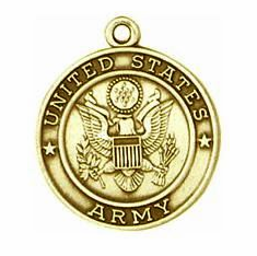 Army 14kt Gold Medals
