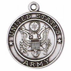 Army Sterling Silver Medals