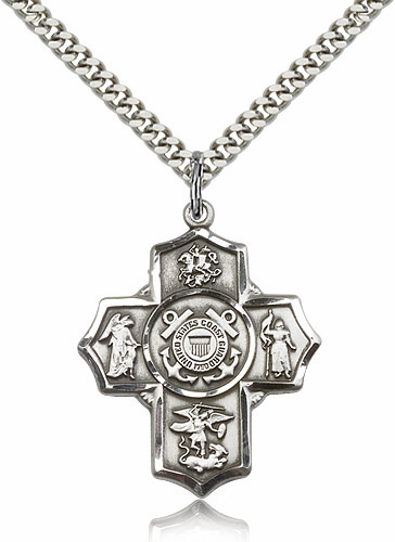 Bliss 5-Way Cross Military Jewelry