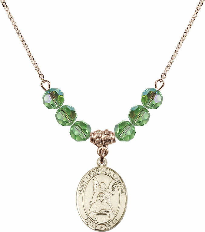Bliss Crystal Beaded Patron Saint Necklaces