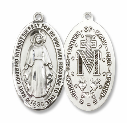 Bliss Miraculous Medal Jewelry