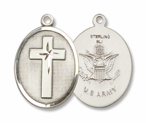 Christian Military Medal Necklaces