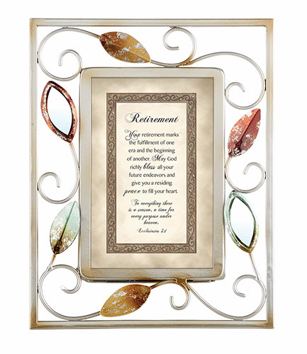 Heartfelt Heartwarming Expressions Retirement - Ecclesiastes 3:1 Tabletop Picture