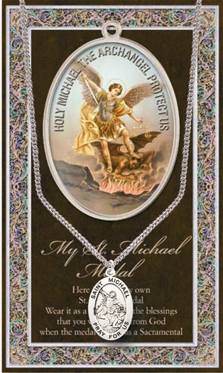 Hirten Medals with Holy Prayer Pamphlets and Cards