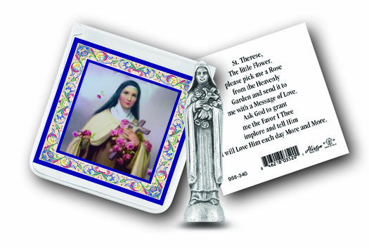 Hirten Pocket Statues with Holy Card Gift Sets