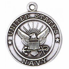 Navy Sterling Silver Medals