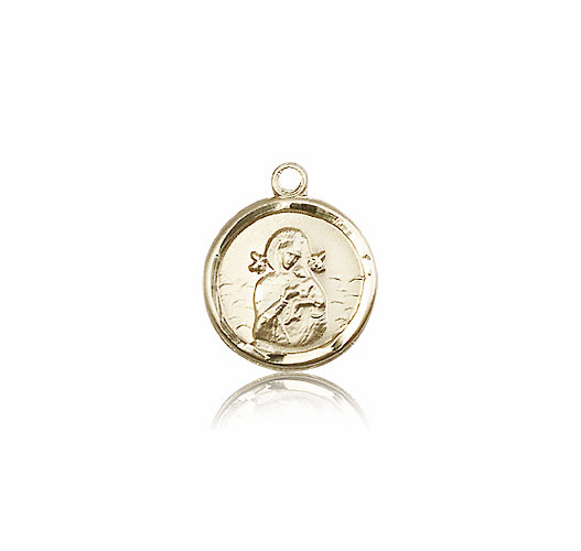Our Lady of Perpetual Help 14kt Gold Medal Pendant by Bliss Manufacturing