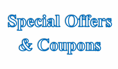 Special Offers and Coupons