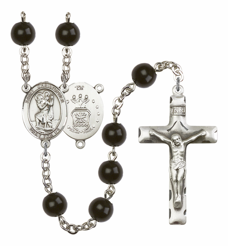 St Christopher Patron Saint Military Rosaries & Gifts