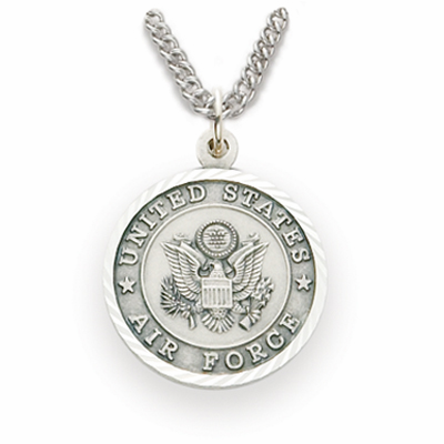 Women's St Michael US Air Force Sterling Necklace by Singer