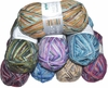 100g GERMAN Self Striping SuperWash SOCK Yarn MAMBO