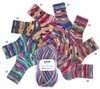 100g GERMAN Self Striping SuperWash SOCK Yarn SALSA