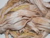 10 Yards Sari SILK Ribbon Cream