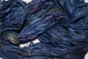10 Yards Sari SILK Ribbon Dark Blue Purple