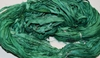 10 Yards Sari SILK Ribbon Forest Green