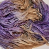 10 Yards Sari SILK Ribbon Golden Purple