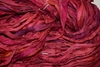 10 Yards Sari SILK Ribbon Lava