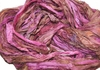10 Yards Sari SILK Ribbon Rose Brown