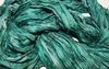 10 Yards Sari SILK Ribbon Seafoam