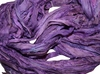 10 Yards Sari SILK Ribbon Violet