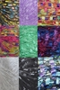 135 yrds 9 colors Ladder Trellis Yarn for 9 necklaces mix lot 1