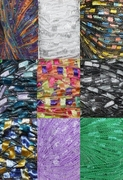 135 yrds 9 colors Ladder Trellis Yarn for 9 necklaces mix lot 12