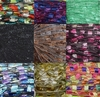 135 yrds 9 colors Ladder Trellis Yarn for 9 necklaces mix lot 17