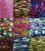 135 yrds 9 colors Ladder Trellis Yarn for 9 necklaces mix lot 8