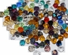 Mix colors 1000pcs 4mm Faceted Bicone Crystal Glass Beads For Jewelry Making