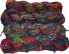 100g Himalayan SILK Yarn Bright Green Mix