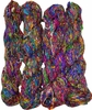 100g Himalayan SILK Yarn Bright Purple Mix