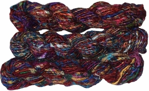 100g Himalayan SILK Yarn Burgundy
