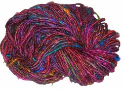 100g Himalayan SILK Yarn Multicolored Purple