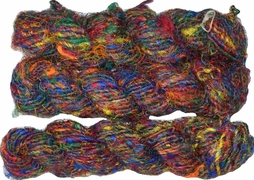 100g Himalayan SILK Yarn Rainbow