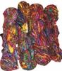 100g Himalayan SILK Yarn Red Purple