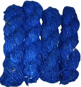 100g Himalayan SILK Yarn Royal Blue