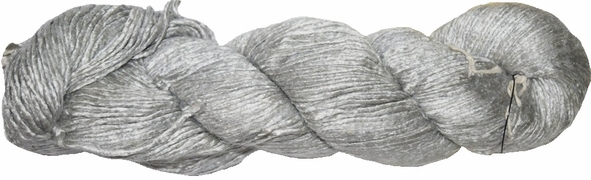 100g Mulberry QUEEN SILK 300 yrd Worsted Luxury Yarn Silver