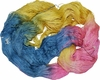 100g Mulberry QUEEN SILK 780 yrd Lace Weight (Fine) Luxury Yarn Yellow Blue Pink