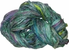 Sari SILK 100g Ribbon Yarn Aquamarine Purple