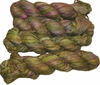 100g Sari SILK Ribbon Art Yarn Asparagus