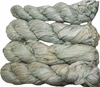 100g Sari SILK Ribbon Art Yarn Azure