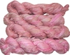 100g Sari SILK Ribbon Art Yarn Bright Pink