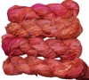 100g Sari SILK Ribbon Art Yarn Carnelian