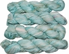 100g Sari SILK Ribbon Art Yarn Celeste